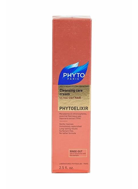 PHYTO Phytoelixir Cleasing Care Cream - Kuru Saçlar İçin Temizleyici Krem 75 ml Renksiz